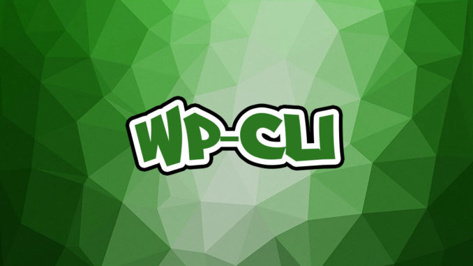 Installer WP-CLI sur Ubuntu 16.04